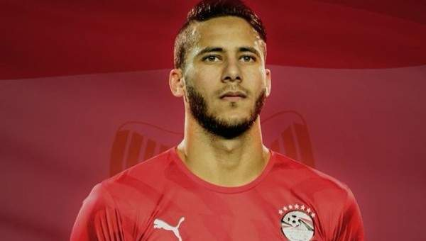رمضان صبحي يفوز بجائزة أفضل لاعب في مباراة غانا
