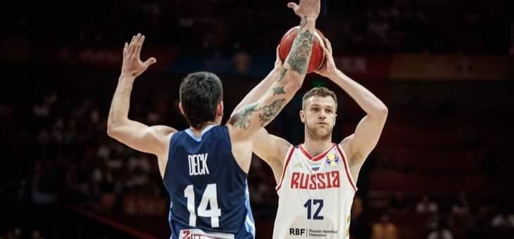 كأس العالم لكرة السلة: التانغو يحقق فوزه الثالث على حساب روسيا