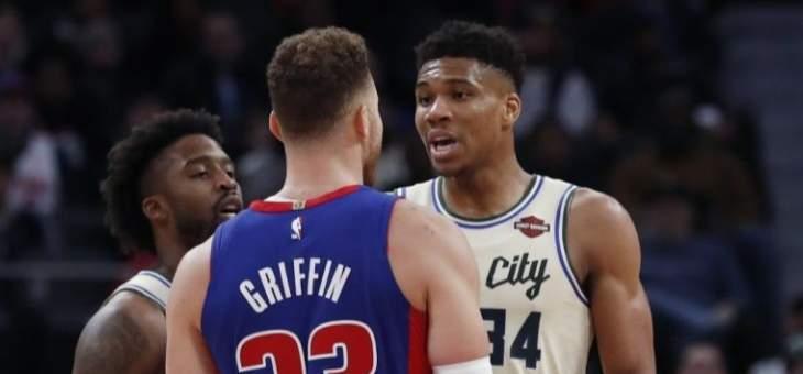 NBA: ميلووكي يحافظ على مسلسل انتصاراته و19 هزيمة للواريرز