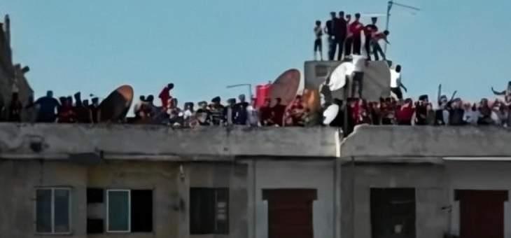 الدوري السوري: الجماهير تمارس هواية التشجيع عبر أسطح المباني
