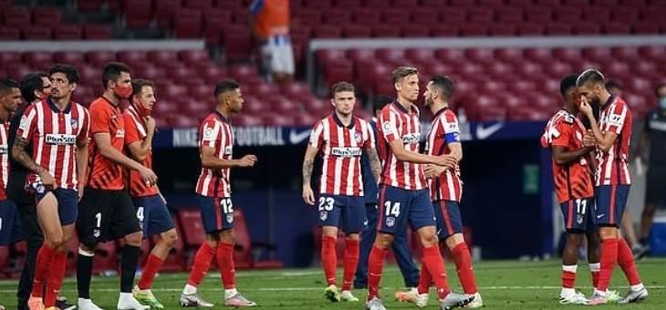 كورونا قد يقصي اتلتيكو مدريد من دوري الابطال