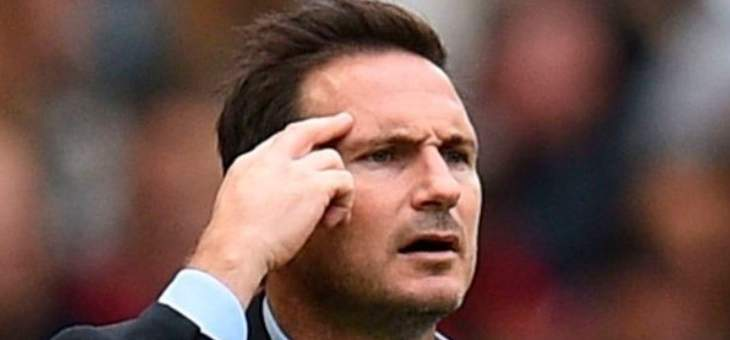 لامبارد إلى لاعبيه: لا أريد أعذار بعد مباراة ليفربول