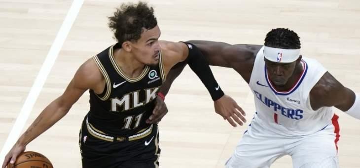 NBA: الكليبرز يسقط امام اتلانتا بغياب نجومه الثلاثة