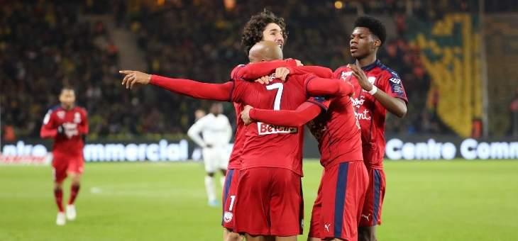 الليغ 1: بوردو يعود الى سكة الانتصار بفوزٍ مهمٍ على مضيفه نانت