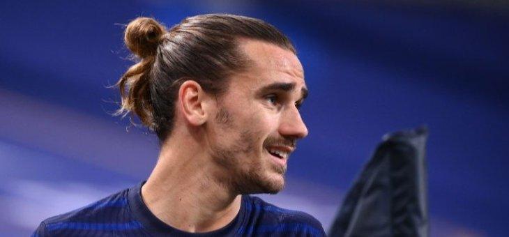 غريزمان يغيب عن تدريبات المنتخب الفرنسي