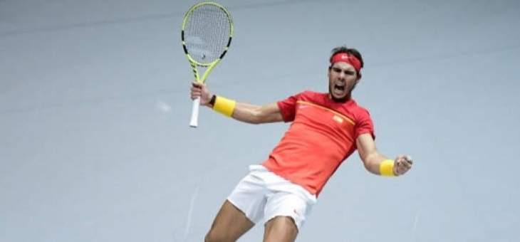 شهر لنادال في صدارة تصنيف لاعبي كرة المضرب المحترفين