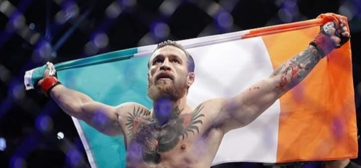 كونور ماكغريغور يفوز لاول مرة في UFC منذ ثلاثة اعوام