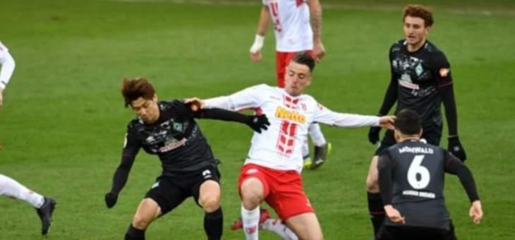 كأس المانيا: فيردر بريمن الى الدور نصف نهائي