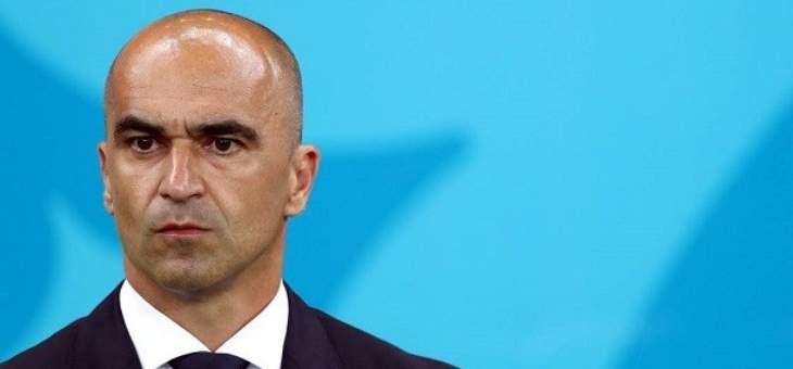 روبيرتو مارتينيز: اتطلع لمواجهة انكلترا في ويمبلي