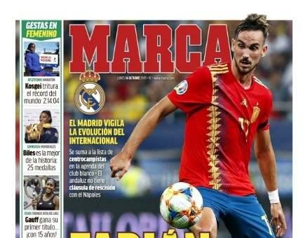 جولة على عناوين ابرز الصحف الرياضية الاوروبية ليوم الإثنين