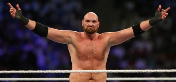 فيوري يعود إلى المصارعة هذا الأسبوع