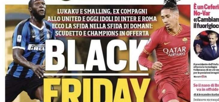 وكيل لوكاكو: أشعر بالخزي بسبب عنوان الصحيفة العنصري