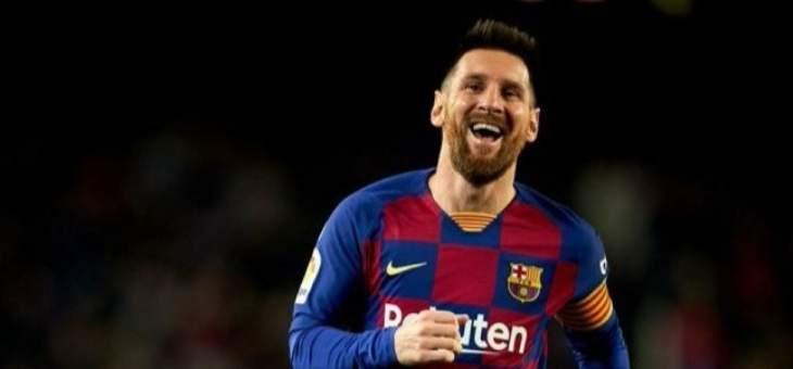 ميسي يسجل هدفا ويعطي تمريرتين حاسمتين في مباراة رقم 700 مع برشلونة