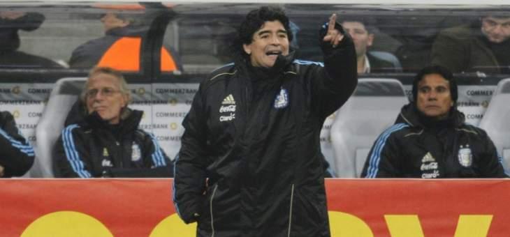 مارادونا اللاعب الاستثنائي الذي فشل في نقل نجاحاته الى عالم التدريب